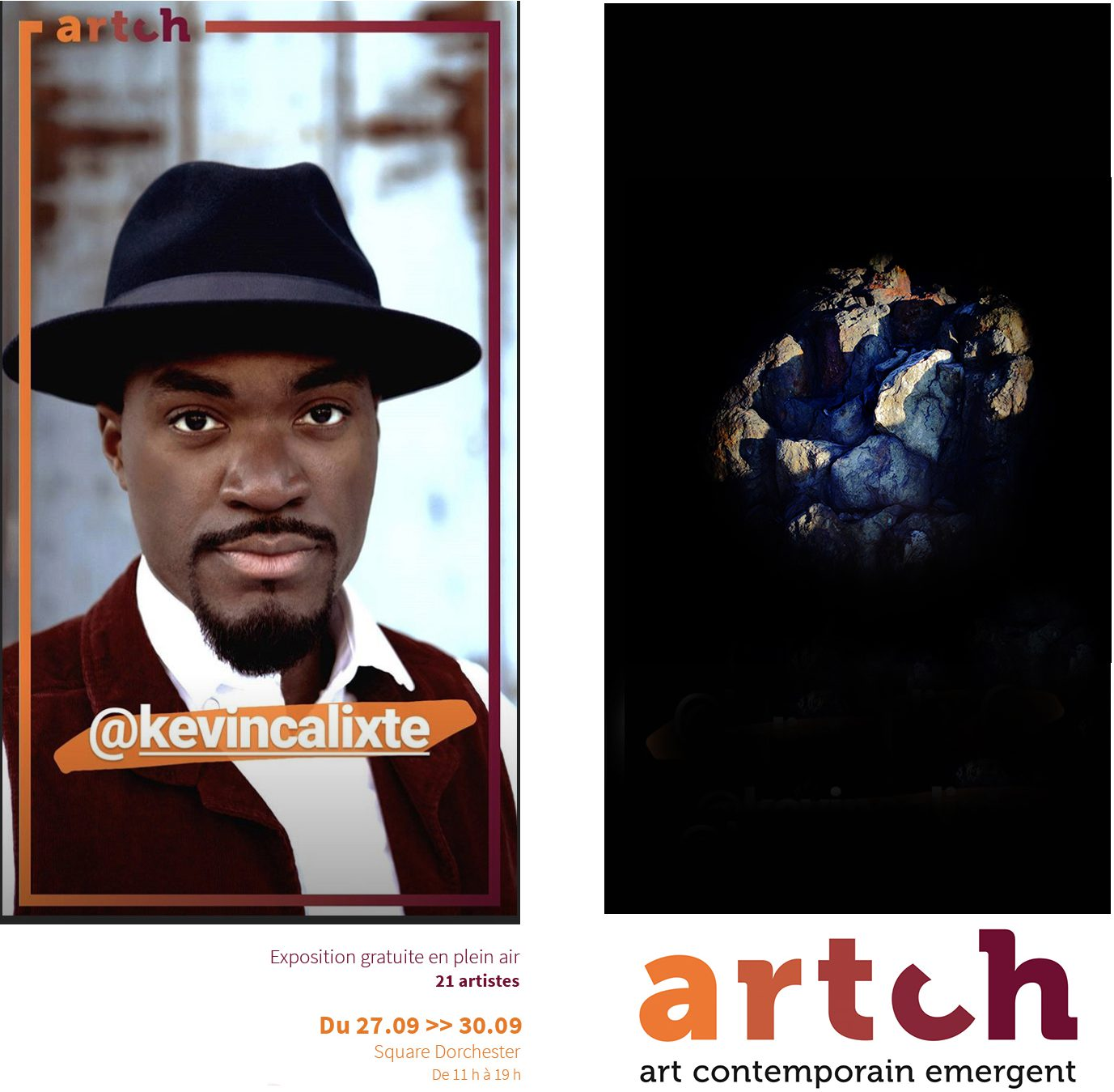 Artch Collective Emerging Artist Exhibition September 27 to 30 at the Square Dorchester